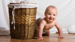 baby-in-diaper-with-hamper
