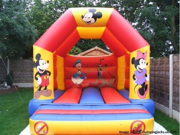 Bouncy Castle for Kids Party