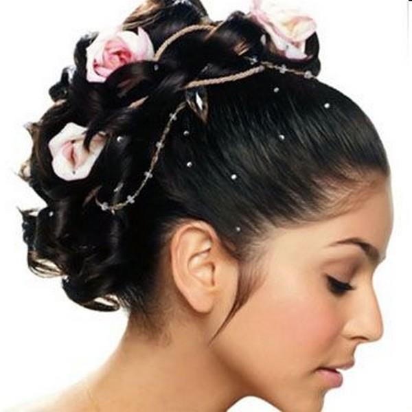 Awe Inspiring Bridal Hairstyles For Wedding Motherszone Short Hairstyles Gunalazisus