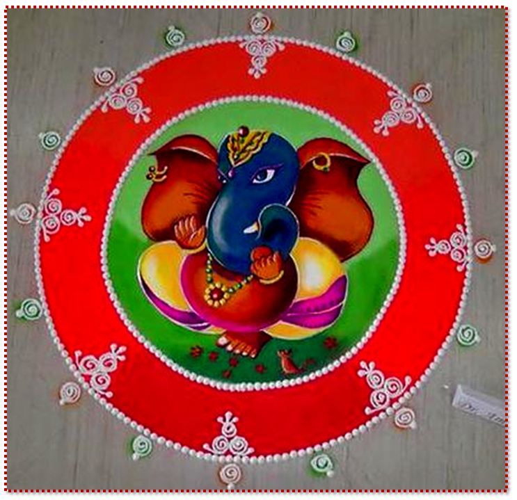 best-ganesha-rangoli-design