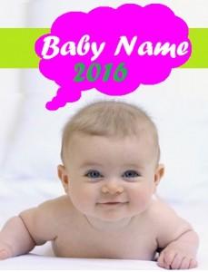 cute-baby name 2016