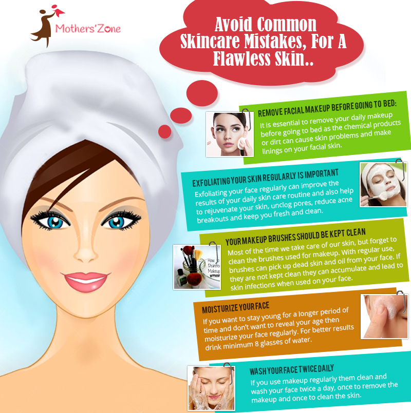 avoid Common skin care mistakes