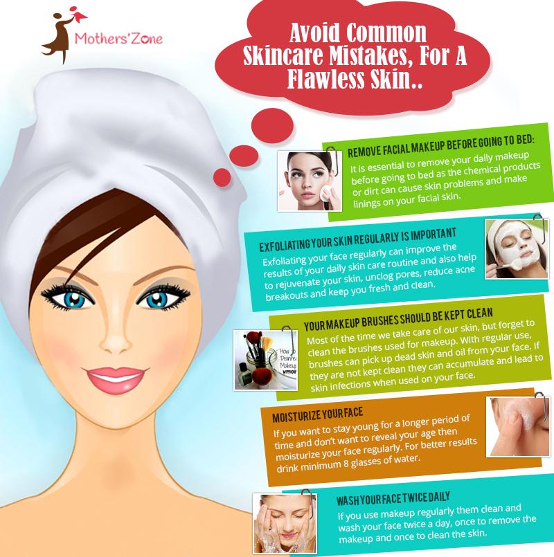 avoid Common skin care mistakes