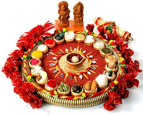 Diwali-Lakshmi-Pooja-Thali