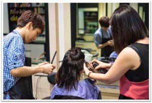 Hair Rebonding Process