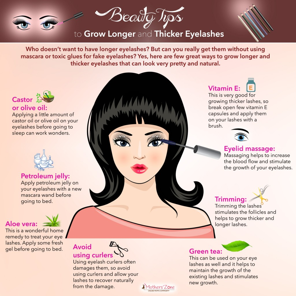 Tips to grow Longer Eyelashes