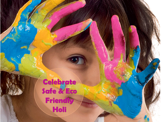 Ecofriendly holi