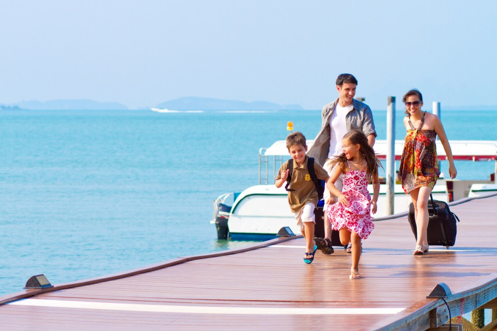family holiday vacation